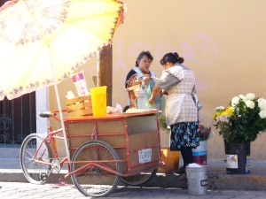the peach monja cart