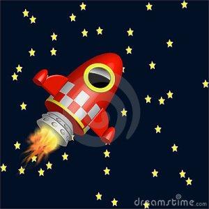 little-red-rocket-ship-flying-universe-18884778