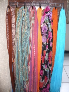 My scarf wardrobe