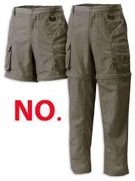 zipoff pants
