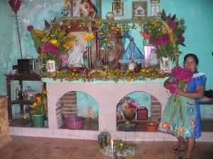 Cecelia's home ofrenda