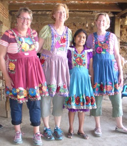 Modeling aprons in San Miguel del Valle, 2015