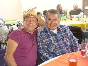 José and cousin Mario
