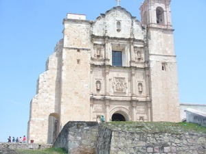 Templo y Ex-Convento de Santo Domingo de Guzmán at Yanhuitlán, begun in 1541
