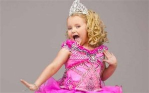 Child beauty pageant star Honey Booboo