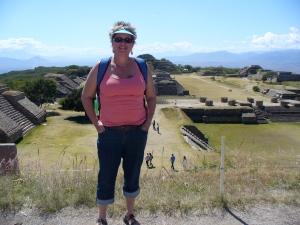 Monte Alban ruins near Oaxaca