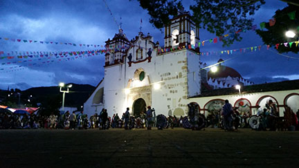 Preciosa Sangre de Cristo church in Teotitlán del Valle