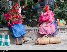 Zapotec market vendors