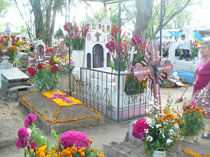 The cemetery in San Antonino
