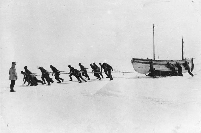 hauling lifeboats